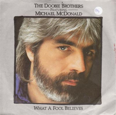 MICHAEL McDONALD - WHAT A FOOL BELIEVES - WARNER 1987
