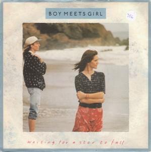 BOY MEETS GIRL - WAITING FOR STARS TO FALL - RCA 1988