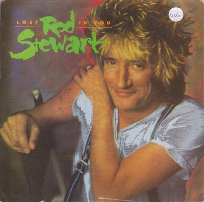 ROD STEWART - LOST IN YOU - WARNER 1988