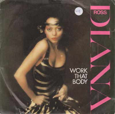 DIANA ROSS - WORK THAT BODY - CAPITOL 1981