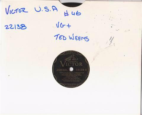 TED WEEMS & NAT SHILKRET - VICTOR SCROLL 22138 { 46