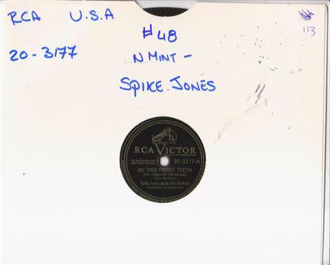 SPIKE JONES - HAPPY NEW YEAR - RCA VICTOR B20-3177{ 48