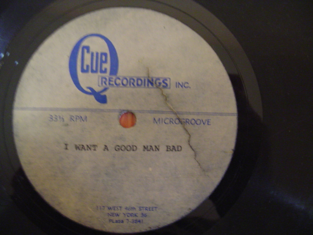 UNKNOWN ARTIST - I WANT A GOOD MAN BAD - ACETATE