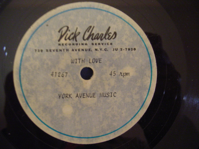 DICK CHARLES - WITH LOVE - YORK AVENUE MUSIC