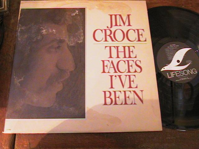 JIM CROCE - THE FACES I'VE BEEN - 2LP LIFESONG - {AF 238