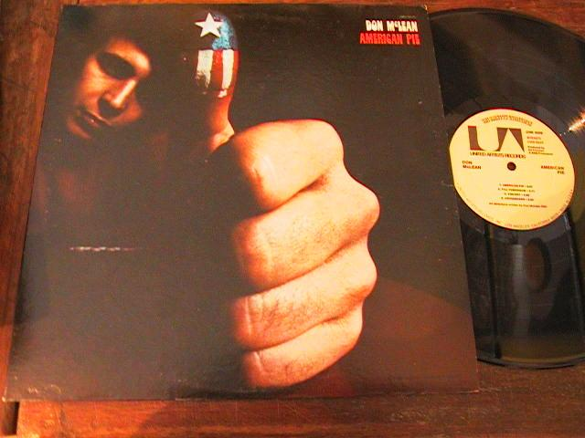 DON McLEAN - AMERICAN PIE - U A RECORDS { AF 233