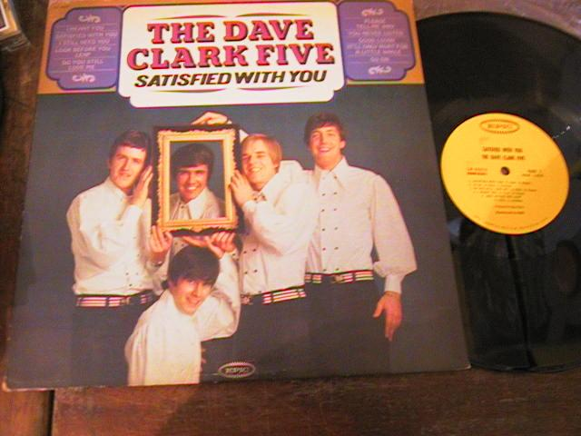 DAVE CLARK FIVE - SATISFIED WITH YOU - EPIC { AF 225