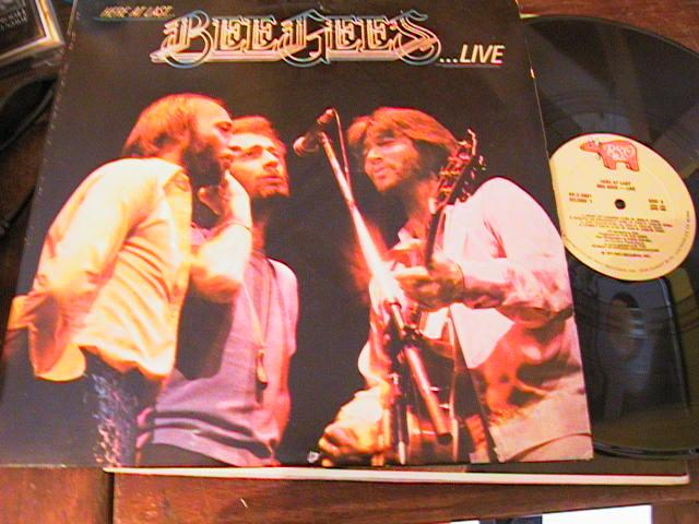 THE BEE GEES - LIVE 2LP - RSO RECORDS { AF 224