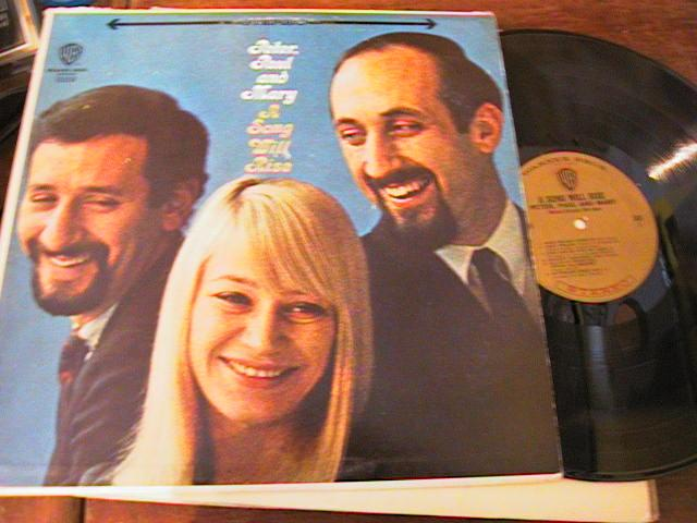 PETER PAUL & MARY - A SONG WILL RISE - WARNER { AF 223