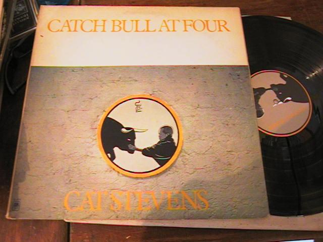 CAT STEVENS - CATCH BULL AT FOUR - A & M RECORDS { AF 221