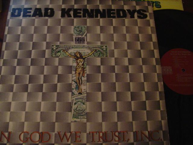 DEAD KENNEDYS - IN GOD WE TRUST - FAULTY { AF 372