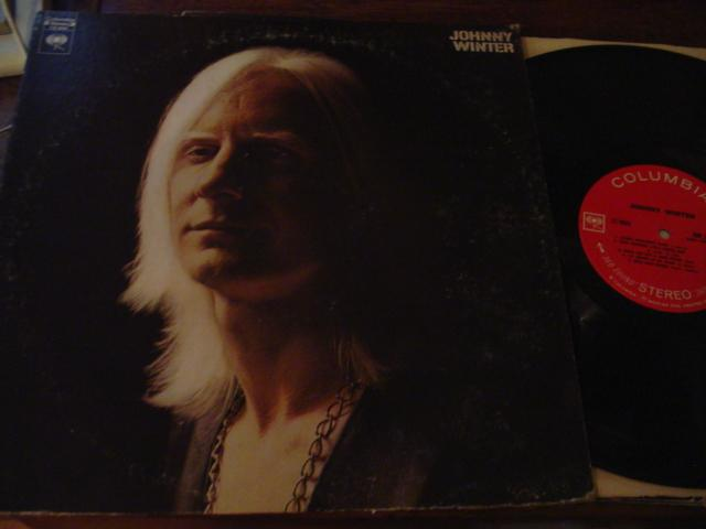 JOHNNY WINTER - SELF TITLE - COLUMBIA { AF 345