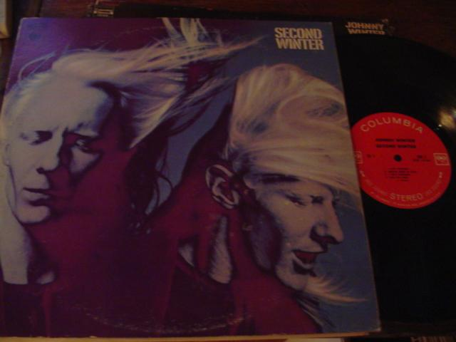 JOHNNY WINTER - SECOND WINTER - COLUMBIA 2LP { AF 344