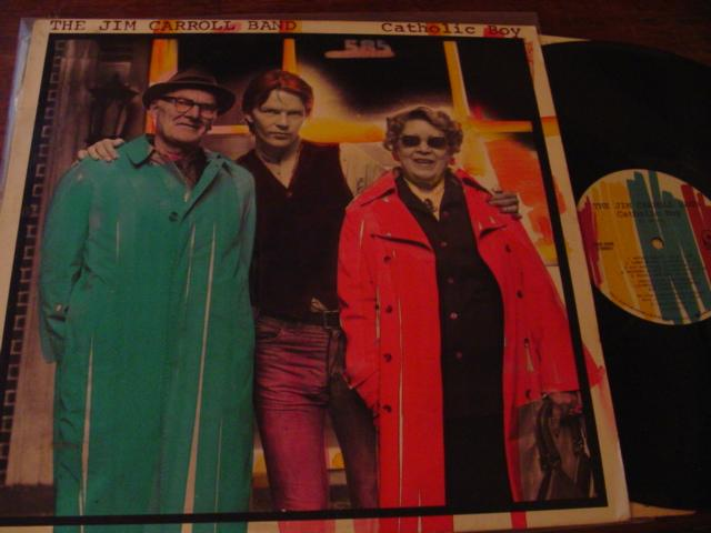 JIM CARROLL BAND - CATHOLIC BOY - ATCO { AF 336