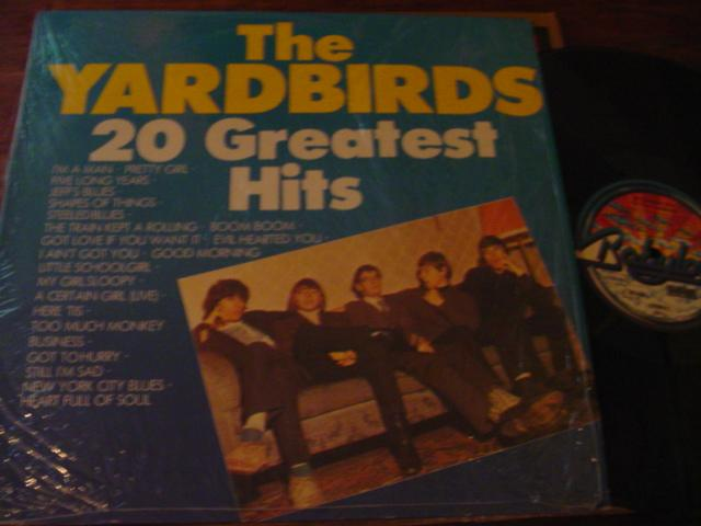 THE YARDBIRDS - GREATEST HITS - BABYLON { AF 369