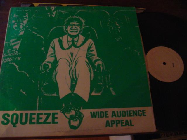 SQUEEZE - WIDE AUDIENCE APPEAL - PRIVATE PRESS { AF 328