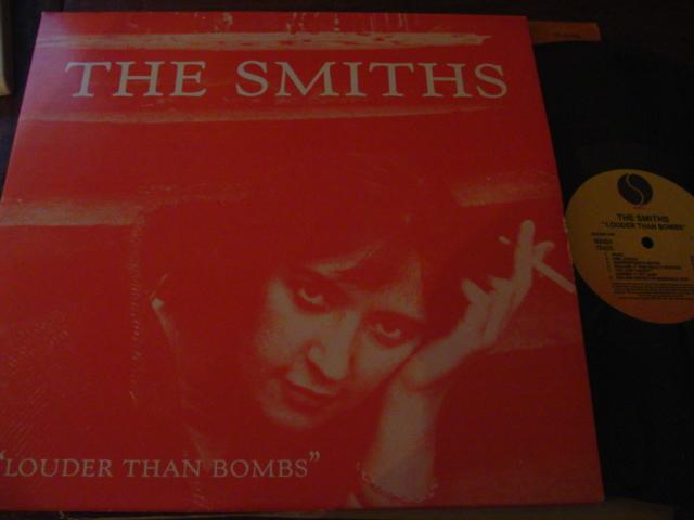 THE SMITHS - LOUDER THAN BOMBS - SIRE 2LP { AF 323