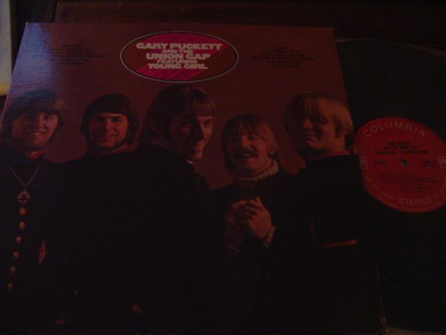 GARY PUCKETT - UNION GAP - COLUMBIA { AF 319