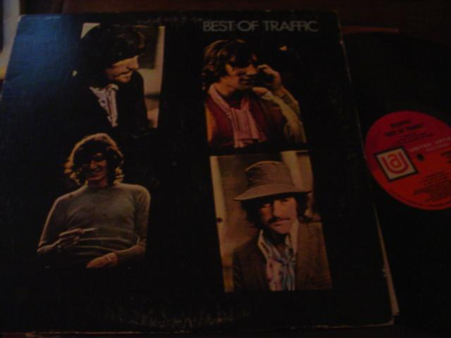 TRAFFIC - THE BEST OF - UA RECORDS { AF 318