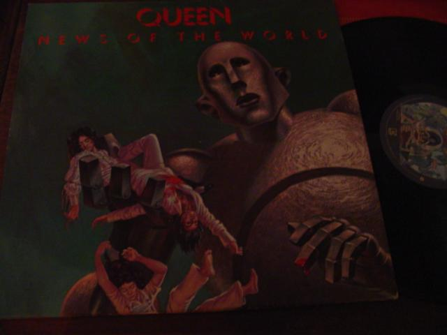 QUEEN - NEWS OF THE WORLD - ELEKTRA { AF 312