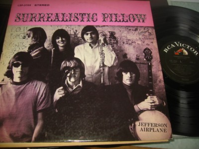 JEFFERSON AIRPLANE - SURREALISTIC PILLOW - RCA { AF 1014