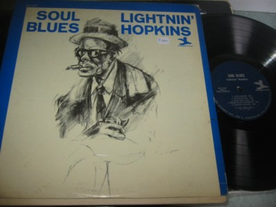 LIGHTNIN HOPKINS - SOUL BLUES - PRESTIGE { AF 1018