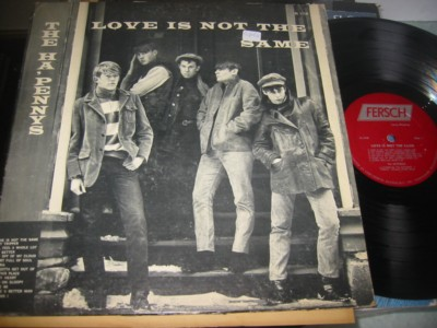 THE HA'PENNY'S - LOVE IS NOT THE SAME - FRESH { AF 1011