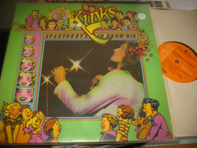 THE KINKS - EVERYBODYS SHOWBUISNESS - RCA 2LP { AF 1010