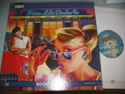 VARIOUS - ROCK N ROLL ERA 1957 - TIME 2LP { 995