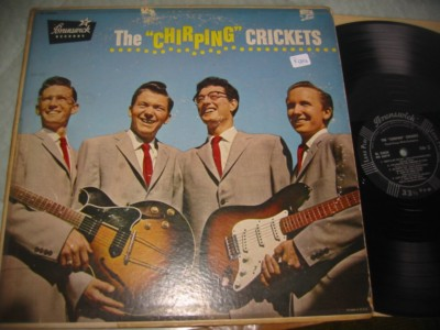 THE CHIRPIN CRICKETS - BUDDY HOLLY - BRUNSWICK { AF 994