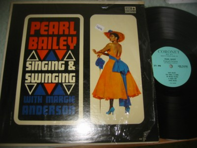 PEARL BAILEY - SINGING & SWINGING - CORONET { J 947