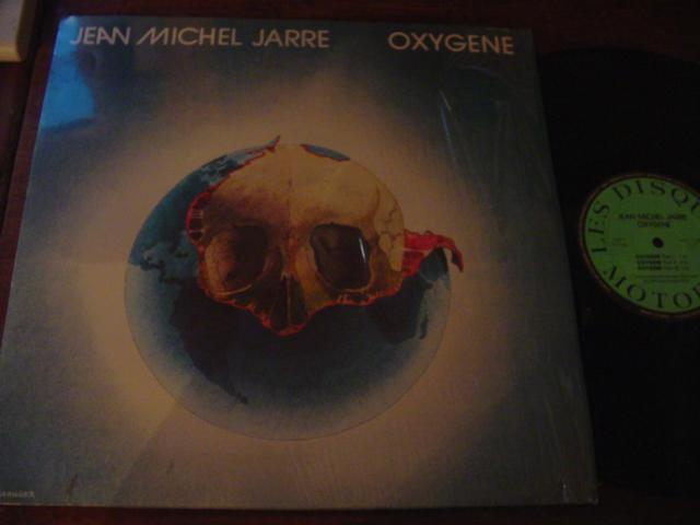 JEAN MICHEL JARRE - OXYGEN - FRENCH PRESS