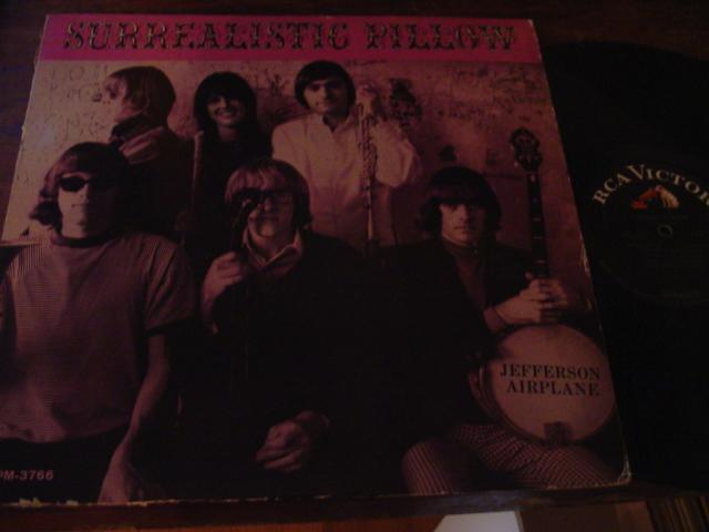 JEFFERSON AIRPLANE - SURREALISTIC PILLOW - MONO RCA AF 388