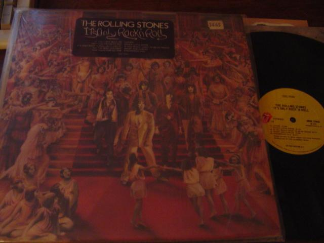 ROLLING STONES - ITS ONLY ROCK ROLL { AF 375