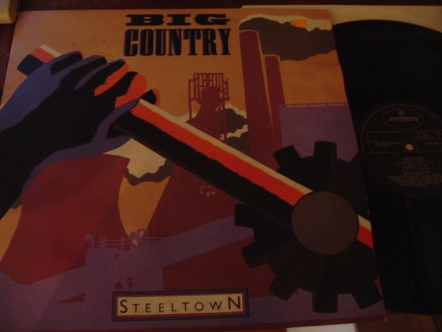 BIG COUNTRY - STEELTOWN - MERCURY UK { AF 374