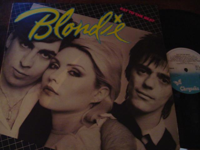 BLONDIE - EAT TO THE BEAT - CHRYSALIS IRISH { AF 445