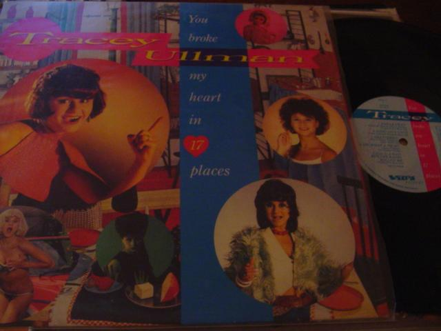 TRACEY ULLMAN - YOU BROKE HEART 17 PLACES - STIFF { AF 426