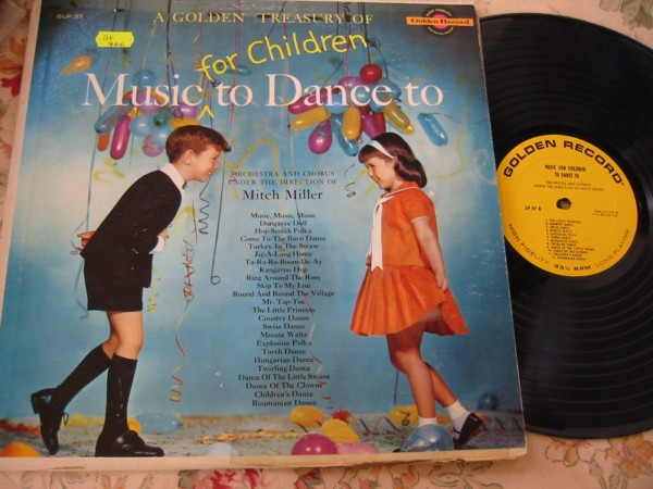 MITCH MILLER - MUSIC FOR CHILDREN - GOLDEN RECORDS