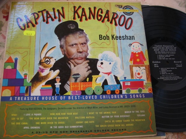 BOB KEESHAN - CAPTAIN KANGAROO - GOLDEN RECORDS