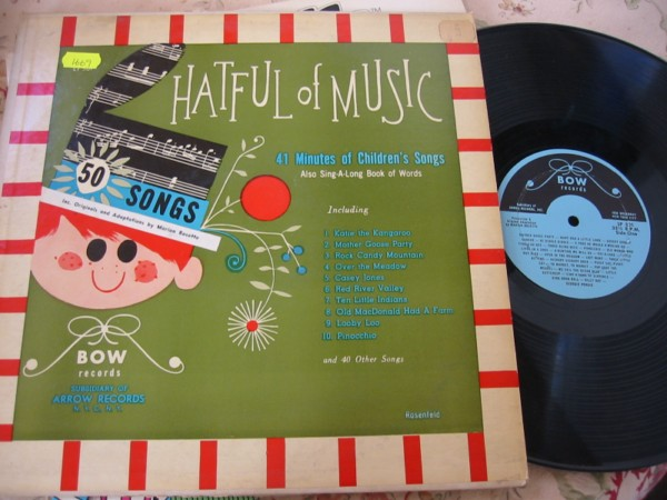 MARION ROSETTE - HATFUL OF MUSIC - BOW RECORDS