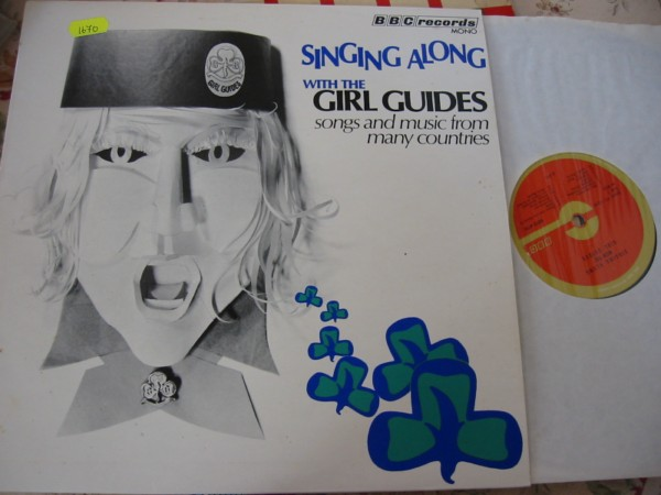 GIRL GUIDE - SINGING ALONG - BBC RECORDS