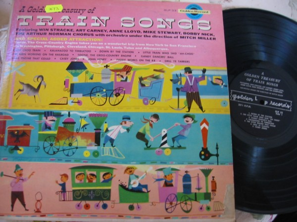 VARIOUS - CHILDRENS TRAIN SONGS - GOLDEN RECORDS