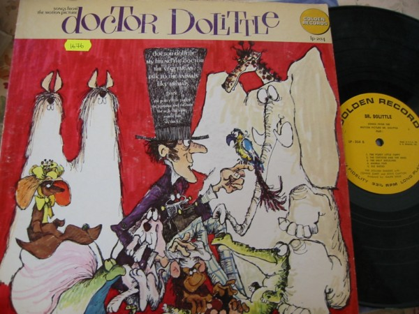 DOCTOR DOLITTLE - GOLDEN RECORDS