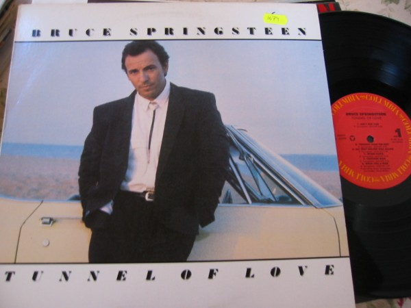 BRUCE SPRINGSTEEN - TUNNEL OF LOVE - COLUMBIA USA