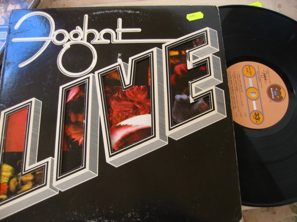 FOGHAT - LIVE - BEARSVILLE RECORDS 1977