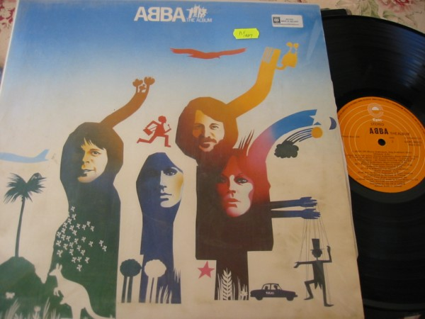 ABBA - THE ALBUM - EPIC 1977 - IRISH PRESS