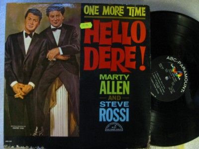 MARTY ALLEN & STEVE ROSSI - ONE MORE TIME - ABC