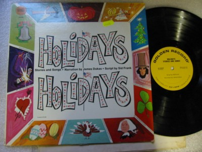 JAMES DUKAS - HOLIDAYS HOLIDAYS - GOLDEN RECORDS