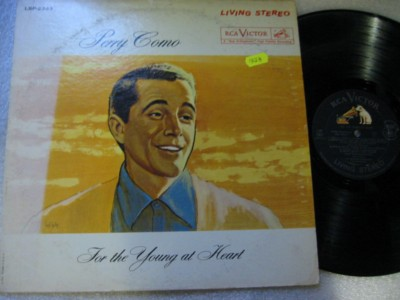PERRY COMO - FOR YOUNG AT HEART - RCA LSP