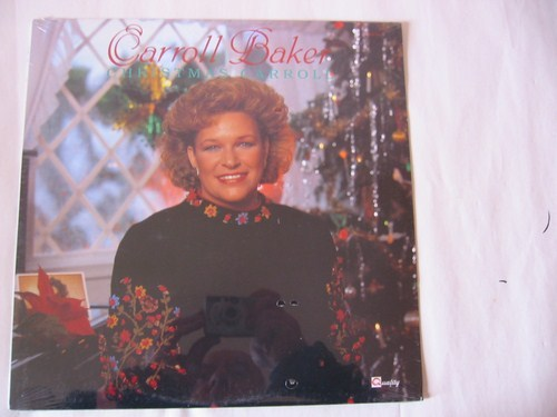 Carroll Baker - Christmas Carroll - Quality Records Sealed 1989